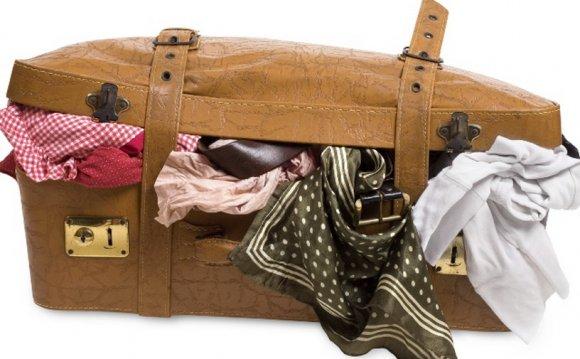 Как сложить вещи в чемодан