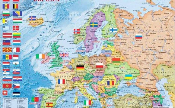 Европы карта