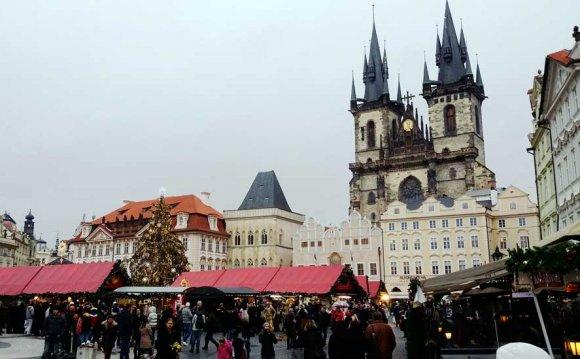 Прага новый год и рождество