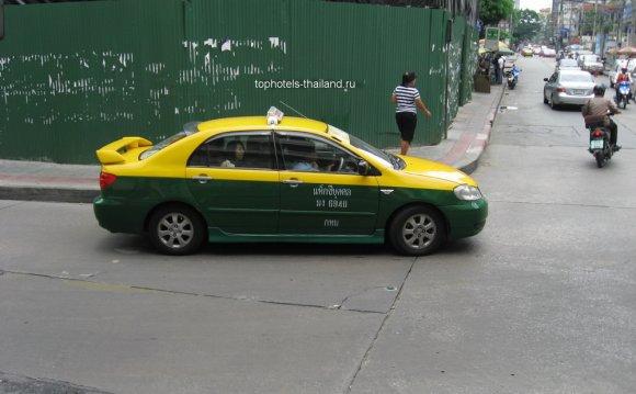 Транспорт в Бангкоке фото