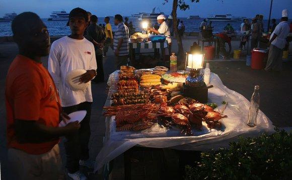 Уличная кухня, Занзибар