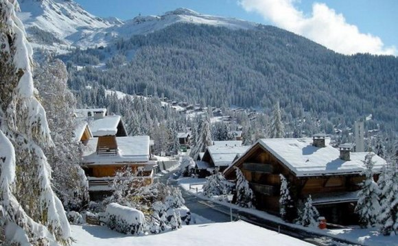 Зимний отдых в Альпах